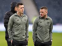 Football - 2019 Betfred Scottish League Cup Final - Celtic vs. Rangers<br /> <br /> Callum McGregor of Celtic and Jonny Hayes of Celtic, Glasgow.<br /> <br /> COLORSPORT/BRUCE WHITE