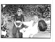 Joan Rivers and Marty Richards © Copyright Photograph by Dafydd Jones 66 Stockwell Park Rd. London SW9 0DA Tel 020 7733 0108 www.dafjones.com