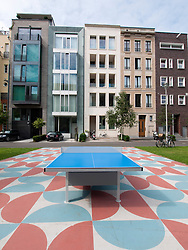 New luxury townhouses in Mitte district of Berlin Germany