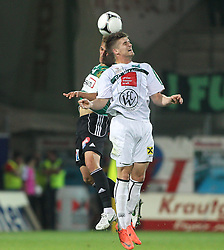10.05.2012, Keine Sorgen Arena, Ried, AUT, 1. FBL, FC Wacker Innsbruck, 34. Spieltag, im Bild Marcel Ziegl, (SV Josko Ried, #29) und Julius Perstaller, (FC Wacker Innsbruck, #22), during the Austrian Bundesliga Match, 34th Round, between SV Josko Ried and FC Wacker Innsbruck at the Keine Sorgen Arena, Ried, Austria on 20120510. EXPA Pictures © 2012, PhotoCredit: EXPA/ R. Hackl