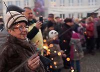 """22.12.2013 Bialystok Wigilia Miejska zorganizowana przez bialostocki magistrat i Stowarzyszenie Pomocy Rodzinie """"Droga"""" fot Michal Kosc / AGENCJA WSCHOD"""