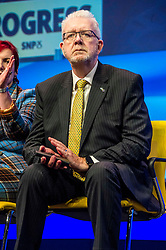 Pictured: Mike Russell, Scottish Brexit Minister <br /> The members of the SNP gathered in the Scottish Events Centre in Glasgow for their annual conference.<br /> <br /> Ger Harley | EEm 10 October 2017