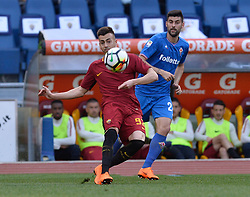 April 7, 2018 - Rome, Italy - Stephan El Shaarawy during the Italian Serie A football match between A.S. Roma and ACF Fiorentina at the Olympic Stadium in Rome, on april 07, 2018. (Credit Image: © Silvia Lore/NurPhoto via ZUMA Press)