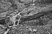 Beulach Ban Falls. Cabot Trail. Cape Breton Island. Appalachian Mountain chain.  <br />Cape Breton Highlands National Park<br />Nova Scotia<br />Canada<br />Cape Breton Highlands National Park<br />Nova Scotia<br />Canada