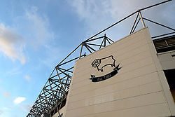 File photo dated 16-03-2021 of Pride Park, Derby. Derby's administrators have appealed against the 12-point penalty imposed on the club for entering administration. The EFL confirmed receipt of the appeal on Monday and said the matter would now be referred to an independent arbitration panel. Issue date: Monday October 11, 2021.