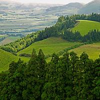 Ponta Delgada landscape.