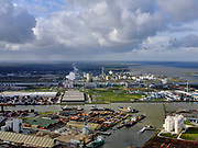 Nederland, Noord-Brabant, Moerdijk; 25-02-2020; <br /> Industrieterrein. Industrial estate.<br /> luchtfoto (toeslag op standard tarieven);<br /> aerial photo (additional fee required)<br /> copyright © 2020 foto/photo Siebe Swart