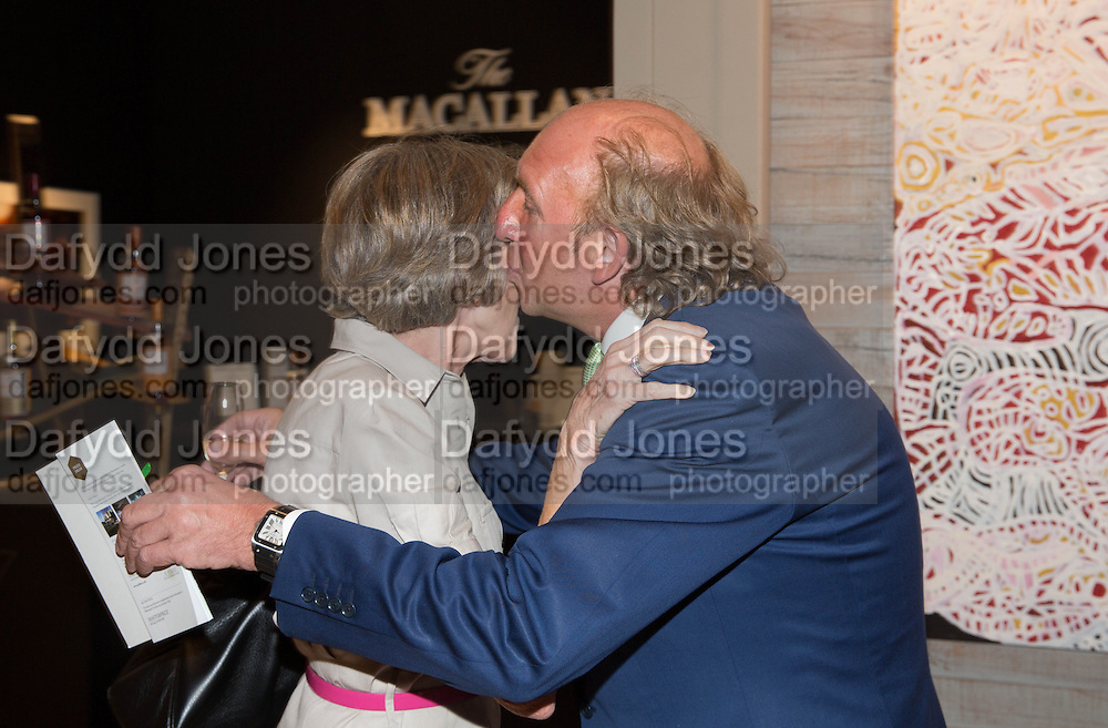 JANE CHURCHILL; DICK DAVENTRY, Lunch at the Ivy Club pop up-restaurant during the preview of Masterpiece Art Fair. Co-hosted by  Count & Countess Filippo Guerrini-Maraldi, and Lord<br /> Dick Daventry. 26 June 2013