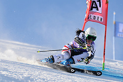 26.10.2013, Rettembach Ferner, Soelden, AUT, FIS Ski Alpin, FIS Weltcup, Ski Alpin, 1. Durchgang, im Bild Stefanie Koehle from Austria // Stefanie Koehle from Austria during 1st run of ladies Giant Slalom of the FIS Ski Alpine Worldcup opening at the Rettenbachferner in Soelden, Austria on 2012/10/26 Rettembach Ferner in Soelden, Austria on 2013/10/26. EXPA Pictures © 2013, PhotoCredit: EXPA/ Mitchell Gunn<br /> <br /> *****ATTENTION - OUT of GBR*****