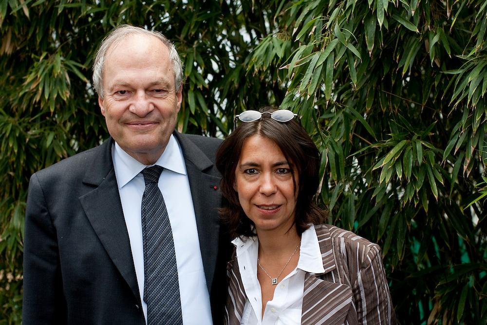 Roland Garros. Paris, France. 26 Mai 2010..Michel Boyon, president du CSA...Roland Garros. Paris, France. May 26th 2010..Michel Boyon..