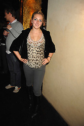 NATASHA CORRETT at a party to launch 'A Hedonist's Guide to Life' held at Maya, 1 Dean Street, London W1 on 23rd October 2007.<br /><br />NON EXCLUSIVE - WORLD RIGHTS