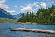 Slocan Lake, Rosebery, Slocan Valley, West Kootenay, British Columbia, Canada