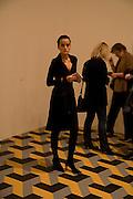 INES RODRIGUEZ-ARGUELLES, Reception, private view and dinner.; Juan Munoz- A Retrospective. Tate Modern. -DO NOT ARCHIVE-© Copyright Photograph by Dafydd Jones. 248 Clapham Rd. London SW9 0PZ. Tel 0207 820 0771. www.dafjones.com.