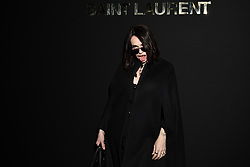 Beatrice Dalle attends the Saint Laurent show as part of the Paris Fashion Week Womenswear Fall/Winter 2019/2020 on February 26, 2019 in Paris, France. Photo by Laurent Zabulon/ABACAPRESS.COM