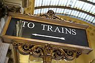 Union Station i Chicago.<br /> <br /> Foto: Christina Sjögren