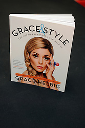 """© Licensed to London News Pictures. 20/02/2016<br /> Grace Helbig Comedian,actress,author and YouTube personality at Waterstones book store Bluewater,Greenhithe,Kent to meet hundreds of fans who have come to buy her new book  """"Grace&Style"""".<br />  <br />  (Byline:Grant FalveyLNP)"""