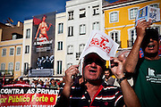 manifestacao organizada pela CGTP em Lisboa.