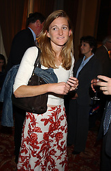 RACHEL WHETSTONE at a party to celebrate the publication o'Seventy Two Virgins' by Boris Johnson held at The Travellers Club, 106 Pall Mall, London on 14th September 2004.<br /><br />NON EXCLUSIVE - WORLD RIGHTS