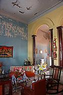 House interior in Bayamo, Granma, Cuba.