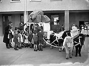 Children's Party at Baldoyle Hospital - Special for William Young.18/12/1956