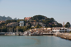 Waterfront, Tiburon, California, USA.  Photo copyright Lee Foster.  Photo # california108071
