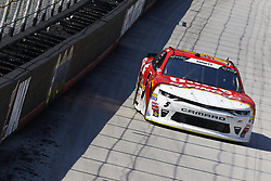 April 13, 2018 - Bristol, Tennessee, United States of America - April 13, 2018 - Bristol, Tennessee, USA: Michael Annett (5) brings his car down the backstretch during final practice for the Fitzgerald Glider Kits 300 at Bristol Motor Speedway in Bristol, Tennessee. (Credit Image: © Chris Owens Asp Inc/ASP via ZUMA Wire)