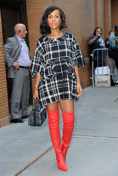 October 5, 2017 - New York, NY, USA - October 5, 2017 New York City..Kerry Washington was at The View in New York City on October 5, 2017. (Credit Image: © Kristin Callahan/Ace Pictures via ZUMA Press)