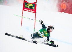 Willis Feasey of New Zeland during 1st run of Men's GiantSlalom race of FIS Alpine Ski World Cup 57th Vitranc Cup 2018, on March 3, 2018 in Kranjska Gora, Slovenia. Photo by Ziga Zupan / Sportida