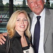 NLD/Amsterdam/20070902 - Modeshow Monique Collignon najaar 2007, Cees van der Hoeven en partner Anita van der Hoeven - van der Klooster