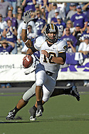 MANHATTAN, KS - NOVEMBER 17:  Quarterback Chase Daniel #10 of the Missouri Tigers scrambles out of trouble in the second half against the Kansas State Wildcats on November 17, 2007 at Bill Snyder Stadium in Manhattan, Kansas.  Missouri won the game 49-32.  (Photo by Peter Aiken/Getty Images)