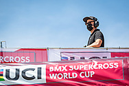 2021 UCI BMXSX World Cup<br /> Round 2 at Verona (Italy)<br /> Qualification<br /> Kevin McCuish (UCI)