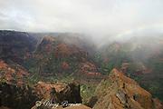 Waimea Canyon, with rainbow, Kauai, Hawaii, USA ( Central Pacific Ocean )