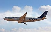 EI-DIR Alitalia, Airbus A330-202. Photographed at Malpensa airport, Milan, Italy