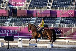 Roos Laurence, BEL, Fil Rouge<br /> Olympic Games Tokyo 2021<br /> © Hippo Foto - Dirk Caremans<br /> 18/07/2021