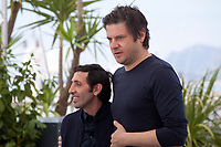 Actor Edoardo Pesce amd Marcello Fonte at the Dogman film photo call at the 71st Cannes Film Festival, Thursday 17th May 2018, Cannes, France. Photo credit: Doreen Kennedy