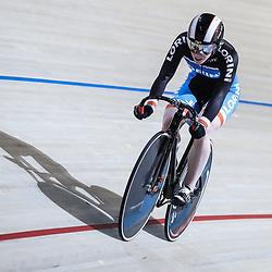 18-12-2016: Wielrennen: NK baanwielrennen: Apeldoorn   <br /> APELDOORN (NED) wielrennen  <br /> Kyra Lamberink (Bergentheim) plaatst zich als snelste op de 500meter tijdens het Nederlands Kampioenschap baanwielrennen in Apeldoorn