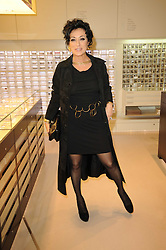 NANCY DELL'OLIO at the Recognise magaine launch party at the exclusive Swarovski Crystallized Lounge, 24 Great Marlborough Street, London on 13th April 2010.