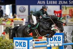 Von Bormann Ina, GER, Rahmannshof Black Pearl<br /> Veolia Championat<br /> Braunschweig - Löwenclassics 2019<br /> © Hippo Foto - Stefan Lafrentz