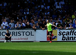 Jack Marriott of Peterborough United celebrates his goal - Mandatory by-line: Neil Brookman/JMP - 12/08/2017 - FOOTBALL - Memorial Stadium - Bristol, England - Bristol Rovers v Peterborough United - Sky Bet League One