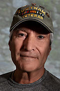 Vietnam Veteran wearing hat
