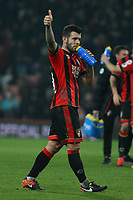 Football - 2016 / 2017 Premier League - AFC Bournemouth vs. Leicester City<br /> <br /> Bournemouth's Jack Wilshere gives a thumbs up after a great home performance at Dean Court (The Vitality Stadium) Bournemouth<br /> <br /> COLORSPORT/SHAUN BOGGUST