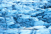 Vatnajokull Glacier National Park, Iceland by Thomas Campbell