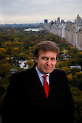 Donald Trump over Central Park