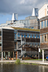 Jubilee University Campus; a new modern design building in the city of Nottingham,
