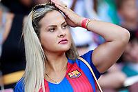 FC Barcelona's supporter during Joan Gamper Trophy. August 7,2017. (ALTERPHOTOS/Acero)