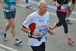 01-11-2015 USA: NYC Marathon We Run 2 Change Diabetes day 4, New York<br /> De dag van de marathon, 42 km en 195 meter door de straten van Staten Island, Brooklyn, Queens, The Bronx en Manhattan / Tjebbe