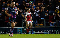 Ulsters' Paddy Jackson after being sent to the sin bin during the European Champions Cup, pool five match at the Sandy Park, Exeter.