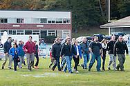 Goshen, New York  - Goshen played Spackenkill in a high school football game at Oscar W. Gustafson field on Oct. 17, 2015.