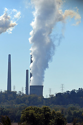 The William H. Zimmer Power Station near Cincinnati Ohio.  This power plant was originally planned and designed to be a nuclear power station, but when it was around 97% complete it was decided that due to poor quality of materials that it would be completed as a coal fired plant.