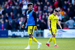 Jacob Maddox of Cheltenham Town - Mandatory by-line: Robbie Stephenson/JMP - 13/04/2019 - FOOTBALL - Sincil Bank Stadium - Lincoln, England - Lincoln City v Cheltenham Town - Sky Bet League Two